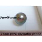 Tahiti parel  losse AAA zwarte ronde 11mm zoutwater niet geboord