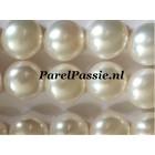 Grote zoetwaterparels paar AAA kwaliteit, 10mm bouton voor oorbellen of hanger .