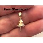 Grote hanger voor parel 14k goud 585 past op grote parels en barok top parels