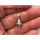 Grote hanger voor parel 14k witgouden 585 past op grote parels en barok top parels