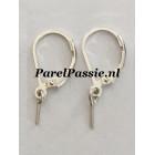 Zilveren brisuren met pin voor parels zilver rh 925, parels los kopen