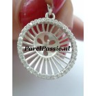 Luxe hanger zilveren, voor samen met parel prachtige parelhanger maken