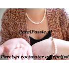 Parelset * zoetwater parelset 7-8mm 44cm a 45cm 19cm