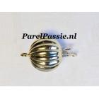 Gouden sluiting voor parelketting collier glans groot 10mm 14k 585